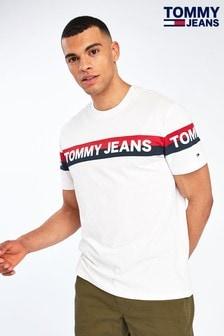 Tommy Hilfiger Double Stripe Logo T-Shirt