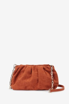 Slouchy Mini Clutch Bag