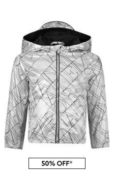 Emporio Armani Silver Jacket