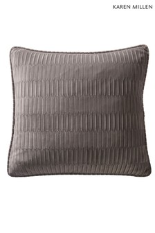 Karen Millen Velvet Pleat Square Cushion