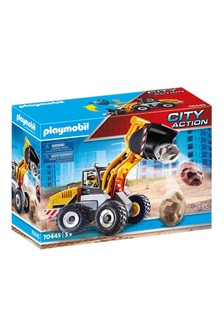Playmobil® 70445 City Action Construction Front End Loader With Movable Bucket