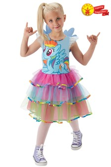 Rubies Blue My Little Pony Rainbow Dash Fancy Dress Costume