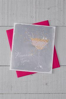 Prosecco Celebration Card