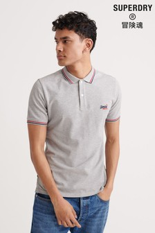 Superdry Classic Micro Lite Tipped Short Sleeved Polo