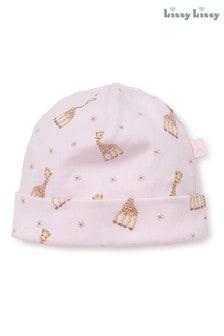Kissy Kissy Pink Sophie La Girafe Hat