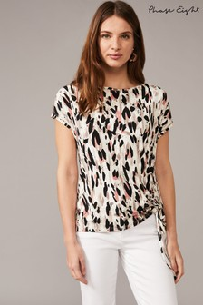 Phase Eight Multi Jinny Abstract Print Top