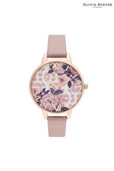 Olivia Burton Wild Flower Vegan & Rose Gold Watch