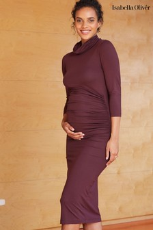 Isabella Oliver Purple Grayson Maternity Dress