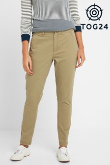 Tog 24 Womens Tan Pickering Regular Chino Trousers