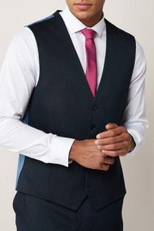 Stretch Twill Suit: Waistcoat