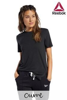 Reebok Curve Black Work Out Ready T-Shirt