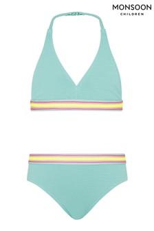 Monsoon Sporty Textured Bikini Set