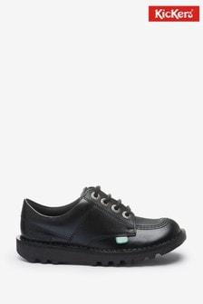 Kickers Junior Kick Lo Leather Shoes