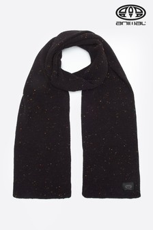 Animal Black Allex Knitted Scarf