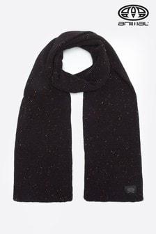 Čierny pletený šál Animal Allex