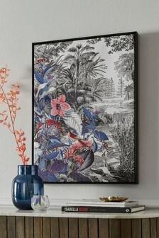 Tropical Floral Canvas