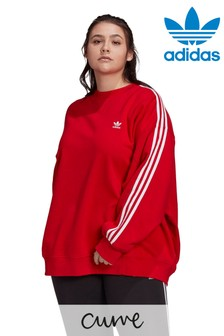 adidas Originals Curve Sweat Top