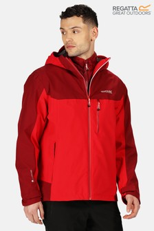 Regatta Red Wentwood V 3-In-1 Waterproof Jacket