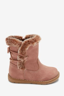 Warm Lined Tall Zip Boots