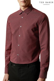 Ted Baker Andso Long Sleeve Fil Coupe Shirt
