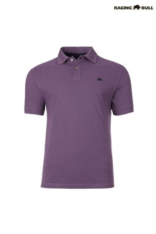 Raging Bull Purple Signature Poloshirt
