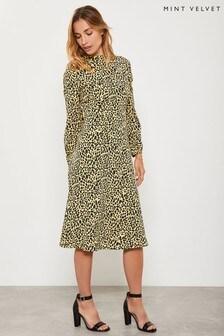 Mint Velvet Maisie Print Midi Dress