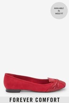 נעלי בלרינה עם סיבוב שלForever Comfort®