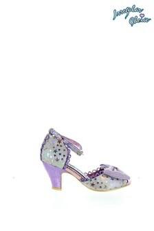 Irregular Choice Purple Sitting Pretty Open Toe Sandals