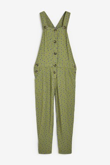 Printed Soft Dungarees (3-16yrs)