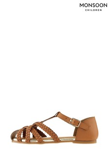 Monsoon Luciana Caged Leather Sandals