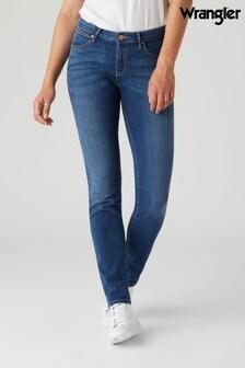 Wrangler Slim Blue Authentic Jeans