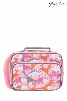 Paperchase Pink Dinosaur Lunch Bag