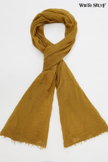 White Stuff Chartreuse Recycled Dreaming Away Scarf
