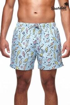 Boardies Mens Zaps Mid Length Swim Shorts