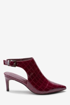 Slingback Shoe Boots