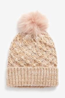 Sparkle Pom Hat
