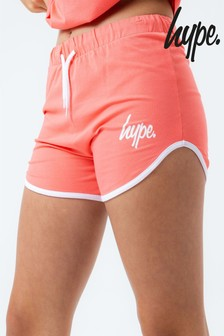 Hype. Coral Running Shorts