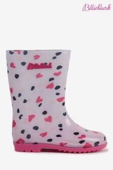 Billieblush Pink Heart Wellies