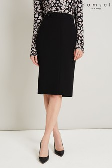Damsel In A Dress Black Margot City Suit Skirt