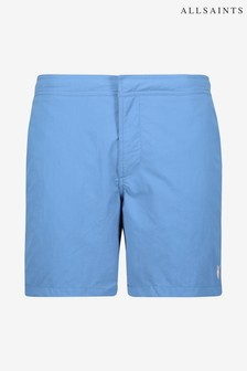 AllSaints Blue Warden Swim Shorts