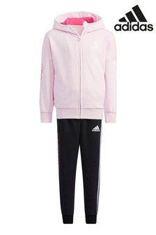 adidas Little Kids Pink Graphic Tracksuit