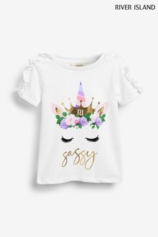 River Island Unicorn T-Shirt