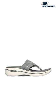 Skechers® Grey Go Walk Arch Fit Sandals
