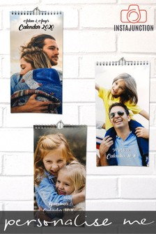 Personalised 2020 Wall Calendar by Instajunction