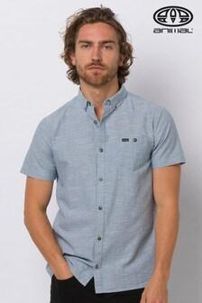 Animal Grey Fleck Short Sleeve Shirt