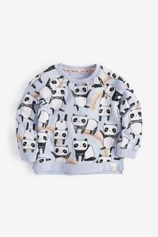 Panda Printed Sweatshirt (3mths-7yrs)