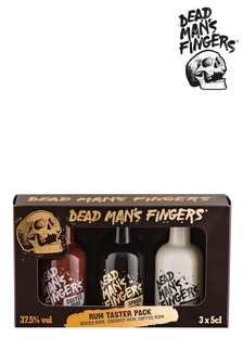 Set of 3 Rum Gift Set by Dead Mans Fingers