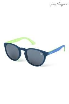 Hype. Tonal Round Sunglasses