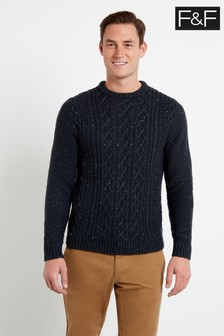 F&F Navy Nep Cable Jumper