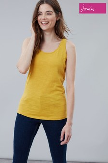 Joules Yellow Bo Jersey Vest